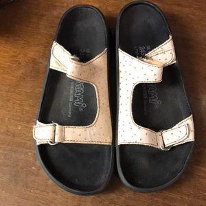 Birkenstock Tatami tan leather sandal size 38/7